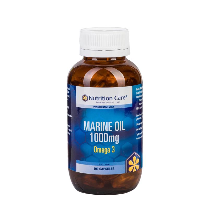 深海鱼油软胶囊 中老年降血脂清血栓预防老年痴呆 100粒